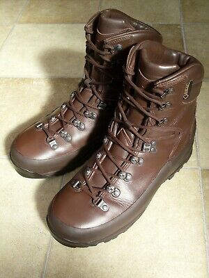 Iturri Cold Wet Weather Goretex Brown Combat Boots British Army UK 9 L (Wide)
