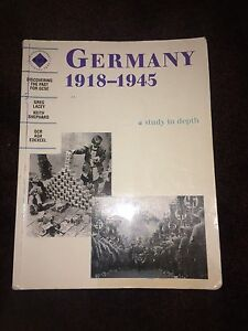 Germany******1945 (a study in depth) Shelley Canning Area Preview