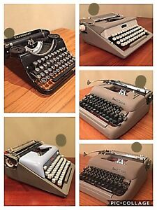Antique Typewriters - Portable - Great Christmas Gift !