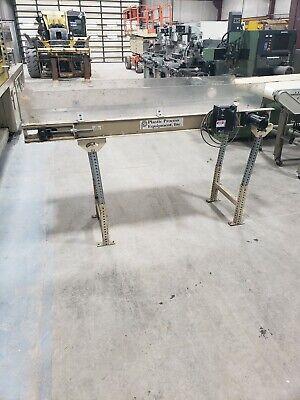 Smooth Flat Belt Conveyor 6 X 18 115v Single Phase
