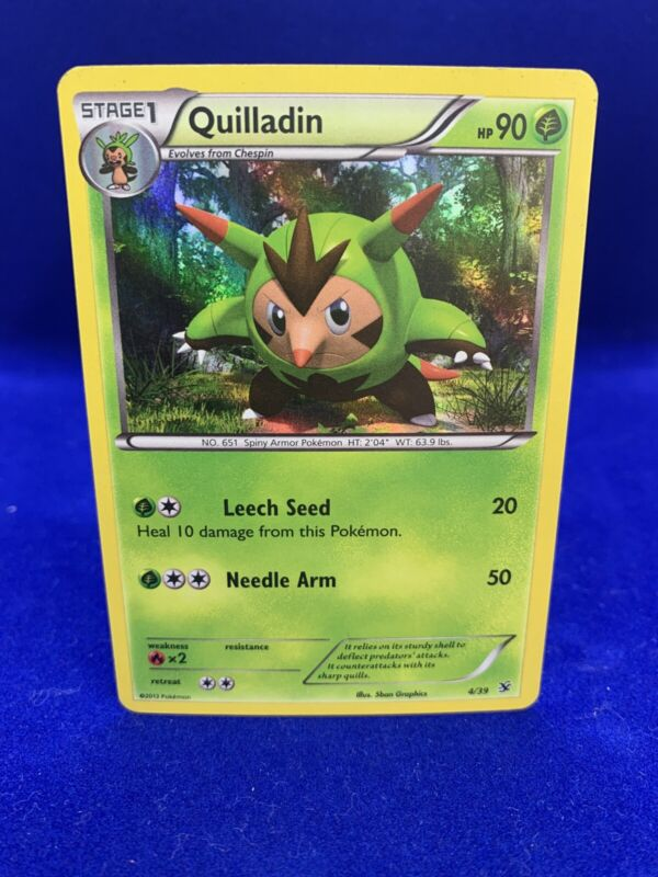 6x Quilladin 10//164 Uncommon NM Pokemon XY Breakthrough