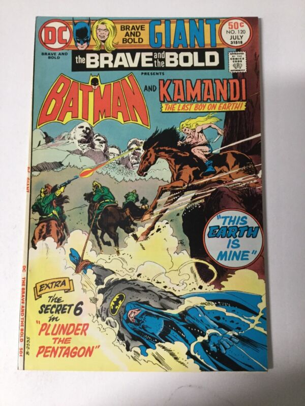 Brave And The Bold 120 Vf+ Very Fine+ 8.5 Dc