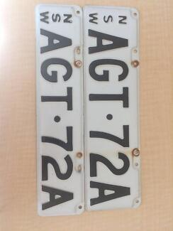 NSW Number Plates AGT_72A
