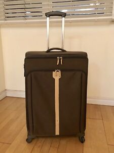 Samsonite 28-Inch Luggage with real leather (Paid $450)