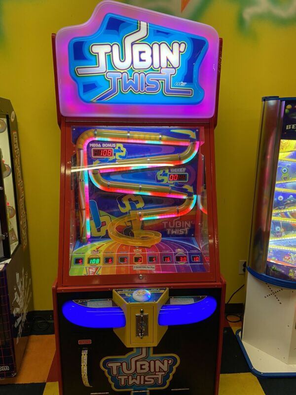 Tubin Twist redemption arcade game
