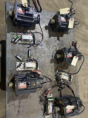 Panasonic Mdm082q2v Ac Servo Motor Off Working Robot 30 Day Warranty Clean