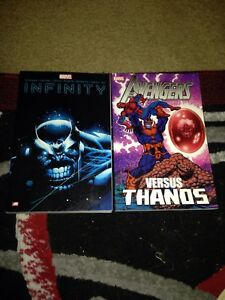 Infinity ar book and avengers versus thanos