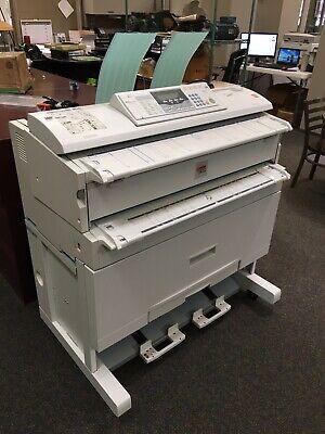 Lanier Lw310 Wide Format Printer - Used
