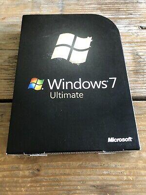 Windows 7 Ultimate, Retail Vollversion, 32+64 bit  / GLC-00205 mit MwSt Rechnung (Windows 7 Ultimate Vollversion)