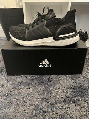 Adidas Ultra Boost 19 Size U.K. 9.5 Black