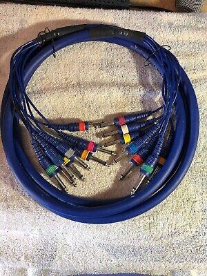 Mogami 2893 Patch CableNeutrik Connectors TT to XLR F12 Feet12 Ft 12/'