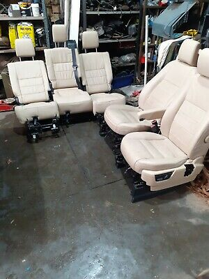Landrover discovery 3 leather seats