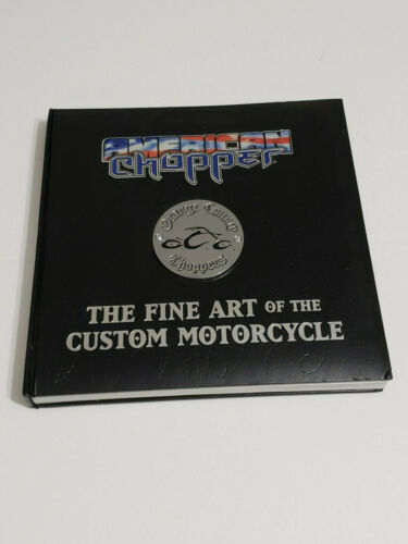 American Chopper-The Fine Art of the Custom Motorcycle-HC-medellion cover-2005