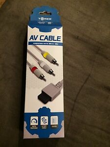 AV cables for Wii U and Wii