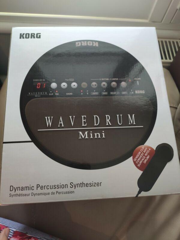 KORG WaveDrum MINI Dynamic Percussion Synthesizer WD-MINI - used once