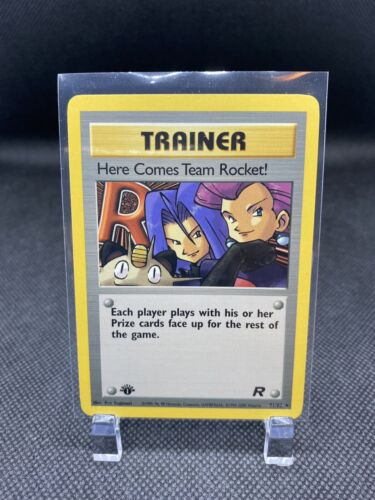 1st Edition Here Comes Team Rocket 71/82 Trainer Pokemon Card NM/Mint Non-Holo - $15.00