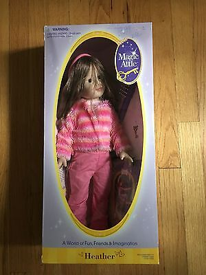 "Magic Attic 18"" Heather Doll NEW N BOX"