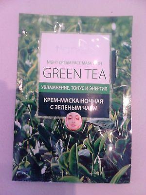 Grüner-tee-creme (Tiande Grüner Tee Creme Gesichts- Nacht Maske, 1 St.)