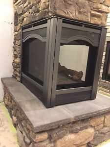 Multi-sided Gas Fireplace  Display model