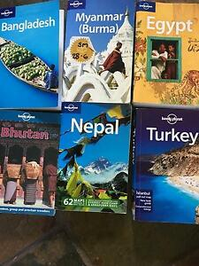 Assorted lonely planet travel guides Bedford Bayswater Area Preview