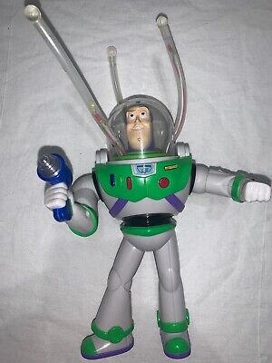 "Disney Pixar Toy Story Buzz Lightyear Space Ranger Spinning Light Chaser 9"""