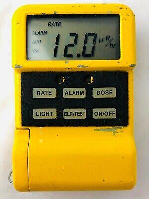 Canberra Mrad113 Personal Radiation Detector Ultraradiac Mini-radiac Monitor