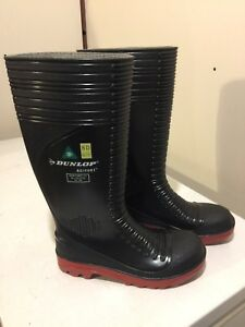 Dunlop rubber boots, CSA approved