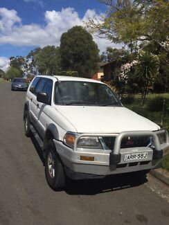 2003 Mitsubishi Challenger low klms Woodbine Campbelltown Area Preview