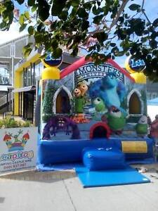 Jumping castle for hire monsters inc