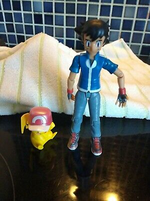 Ash and pikachu Nintendo Pokémon Figures