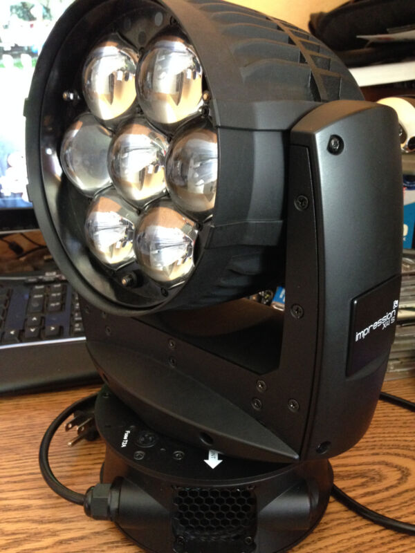 GLP IMPRESSION X4S LED RGBW Wash Moving Head Used 7x15 Watts