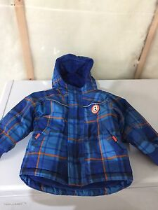 4 pieces for $10  winter jackets and snow pant for 24 months boy