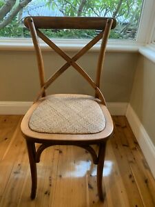 Bentwood Chairs walnut x 4 - As New Condition