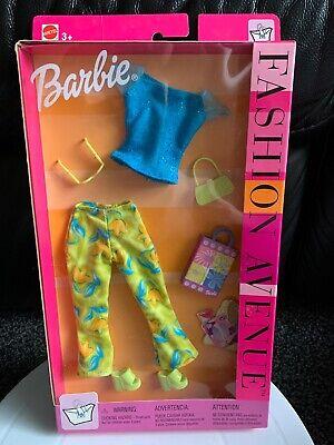 Barbie Fashion Avenue Clothing Set Shopping  2002 25702 Boxed Mattel Outfit