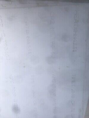 .040 X 34 X 36 Cp 2. Grade 3 Titanium Sheet