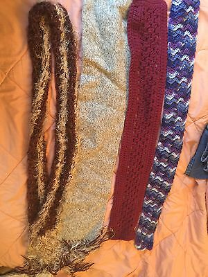 Scarf Scarf Lot 4 Mixed