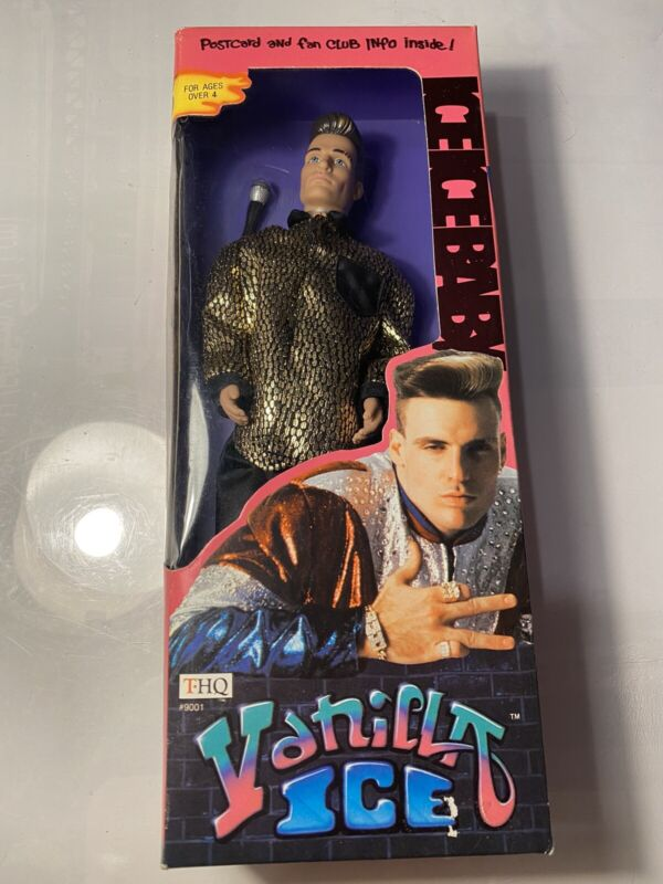 "Vanilla Ice 12"" Golden Jag Action Figure Doll New in Original Box 1991 THQ"