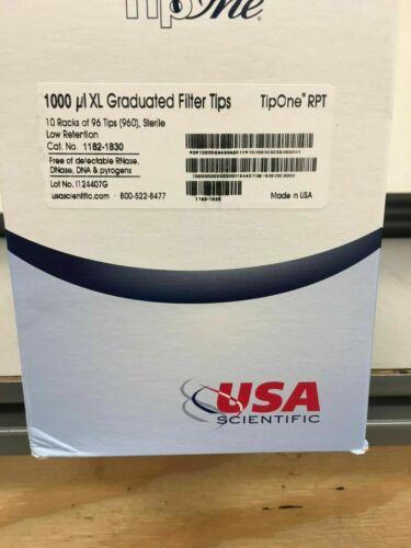 USA Scientific 1000 ul XL TipOne RPT ultra low retention filter tip sterile Ite