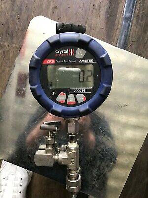 Ametek Crystal 2000 Psi Digital Test Gauge