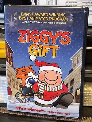 Ziggy's Gift (DVD) Christmas! Emmy Award Winning Best Animated Program! NEW