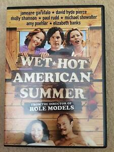 Wet Hot American Summer - DVD - Paul Rudd - FREE POSTAGE Cranbourne North Casey Area Preview