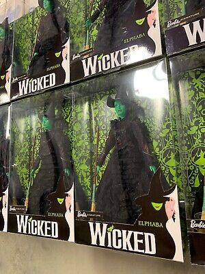 NEW 2018 Barbie Signature - Wicked - Elphaba Mattel FJH60