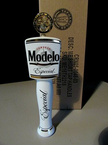 "New 7.5"" Modelo Especial With Medallion Cerveza Beer Tap Handle Kegerator lot"