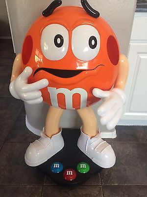 Rare Orange M&M Character Store Display- 3ft Tall