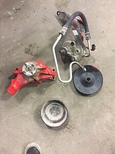 GMC / Chevrolet power steering pump and water pump