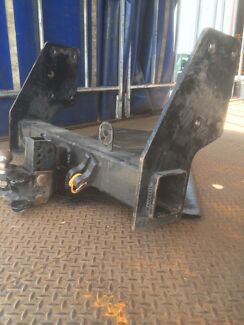 Truck Towbar with tongue and ball