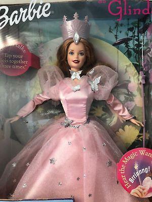 Barbie The Wizard Of Oz Barbie As Glinda TALKING Doll 1999 New in - Glinda In The Wizard Of Oz