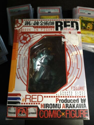 Fullmetal Alchemist Book in Figure RED (Japanese Edition) New