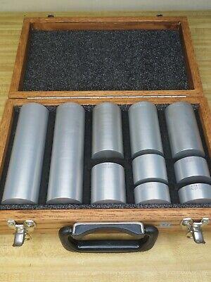 Astm-e-127 Area Amplitude Calibration Blocks 7075 Aluminum Set Of 10 Og50