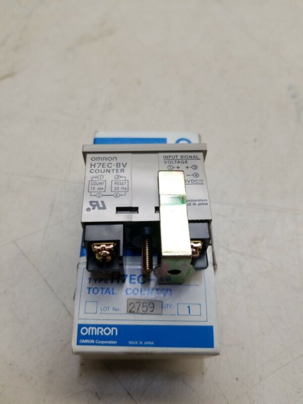 OMRON H7EC-NV H7ECNV Digital Total Counter New in Box Free Ship